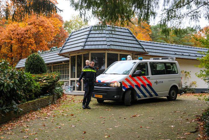 De politie ontmantelde dinsdag een drugslab in voormalig Restaurant Schaveren, waar crystal meth werd geproduceerd.