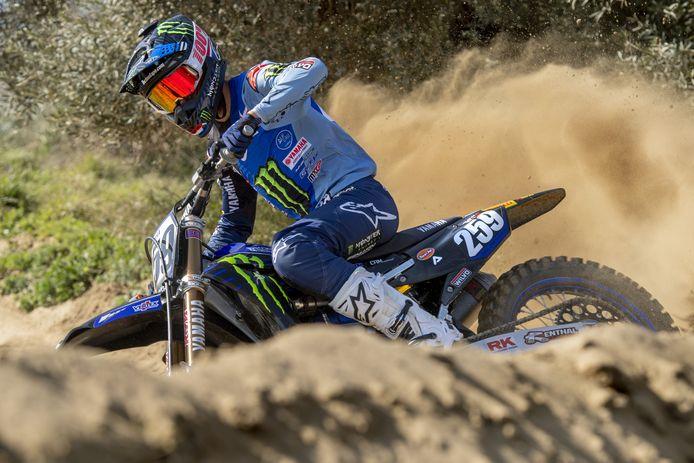 Glenn Coldenhoff heeft zich de afgelopen maanden de Yamaha-motor aardig eigen kunnen maken.