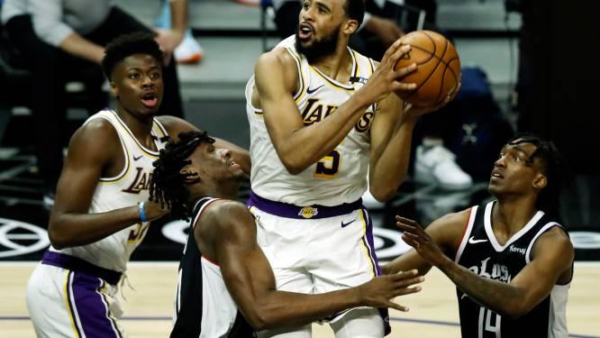 Gehavende Lakers lopen tegen nederlaag aan in stadsderby tegen Clippers