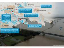 Het water dreigt, maar de Liemers is veilig dankzij verhoging dijken en extra ruimte voor de rivier