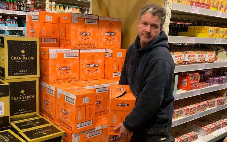 Bij Colruyt krijg je extra korting als je zes flessen koopt.