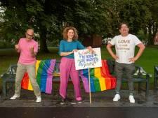 Regenboogvlag Park Valkenberg krijgt na herhaaldelijke vernielingen nachtwacht