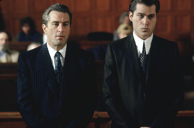 Robert De Niro en Ray Liotta in Goodfellas. Beeld