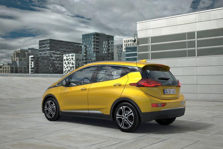 Met een Opel Ampera-e rijd je na één laadbeurt amper 304 in plaats van 520 kilometer.