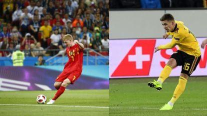 VIDEO. Thorgan doet een Kevintje: tweede goal tegen Zwitserland doet verdacht veel denken aan WK-knal De Bruyne