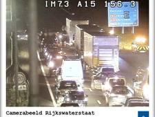 Ongeluk op A15 bij Elst, weg weer vrij