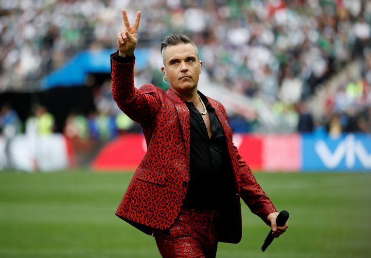 Robbie Williams Beeld REUTERS