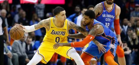 LA Lakers te sterk voor Oklahoma City Thunder