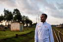 Abdi Nageeye trainend in Kenia