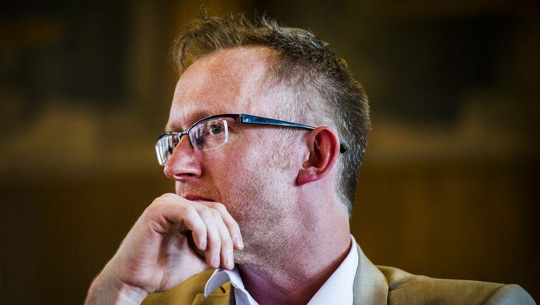 De Belgische schrijver David van Reybrouck Beeld ANP
