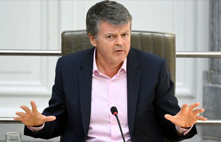 Minister van Binnenlands Bestuur Bart Somers: 'Het lokale bestuursniveau wordt hét bestuursniveau van de 21ste eeuw.' Beeld Photo News