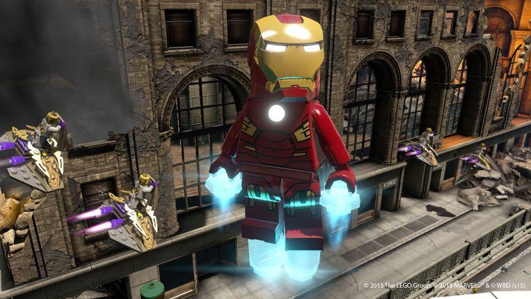 Iron Man. Beeld WB Games