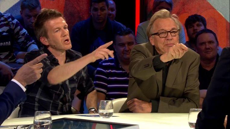 Filip Joos en Jan Mulder in 'Extra Time'. Beeld canvas