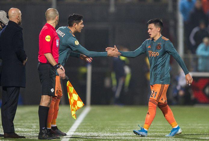 Edson Alvarez vervangt Lisandro Martinez