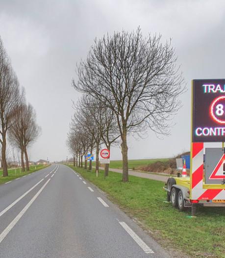 Eerste van 20 trajectcontroles op regionale wegen maandag actief