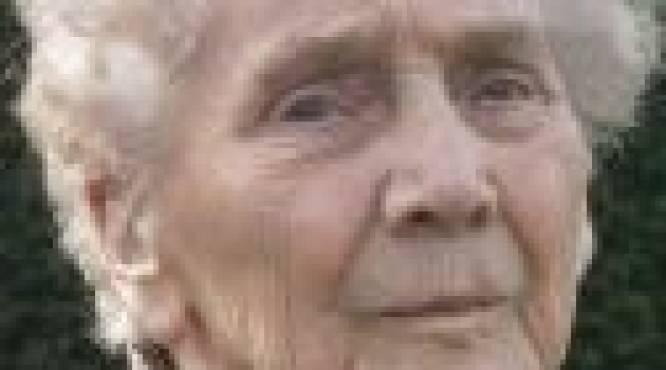 Ivonne Depuydt overlijdt dag na 100ste verjaardag
