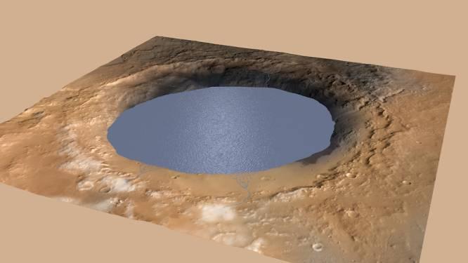 """Curiosity bevestigt verhoogde kans op leven op Mars: """"Meer vulde ooit Gale-krater"""""""