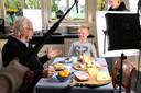 Opnames voor een promotiefilm voor kaas in Woerden in 2017 met Rick de Vries (indertijd 12) en Bram van der Vlugt in de hoofdrollen.
