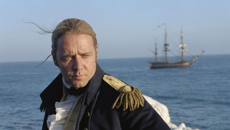 Russell Crowe in Master and Commander Beeld epa