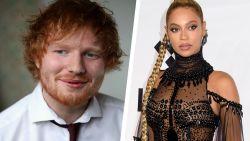 Het is er: het duet tussen Ed Sheeran en Beyoncé