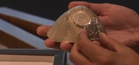 Juwelier werkt aan 'duurste mondkapje ter wereld': witgoud en 3600 diamanten