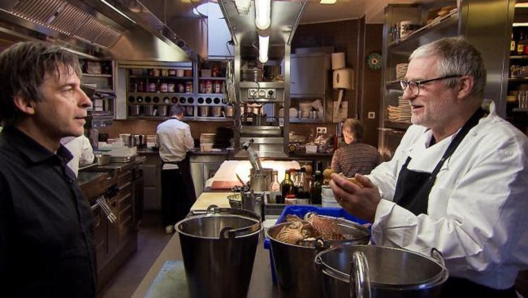 """""""Werken met eten is iets wat je doorgeeft, cultureel erfgoed. Mijn dochter vindt het nu ook fantastisch"""", aldus Filip"""