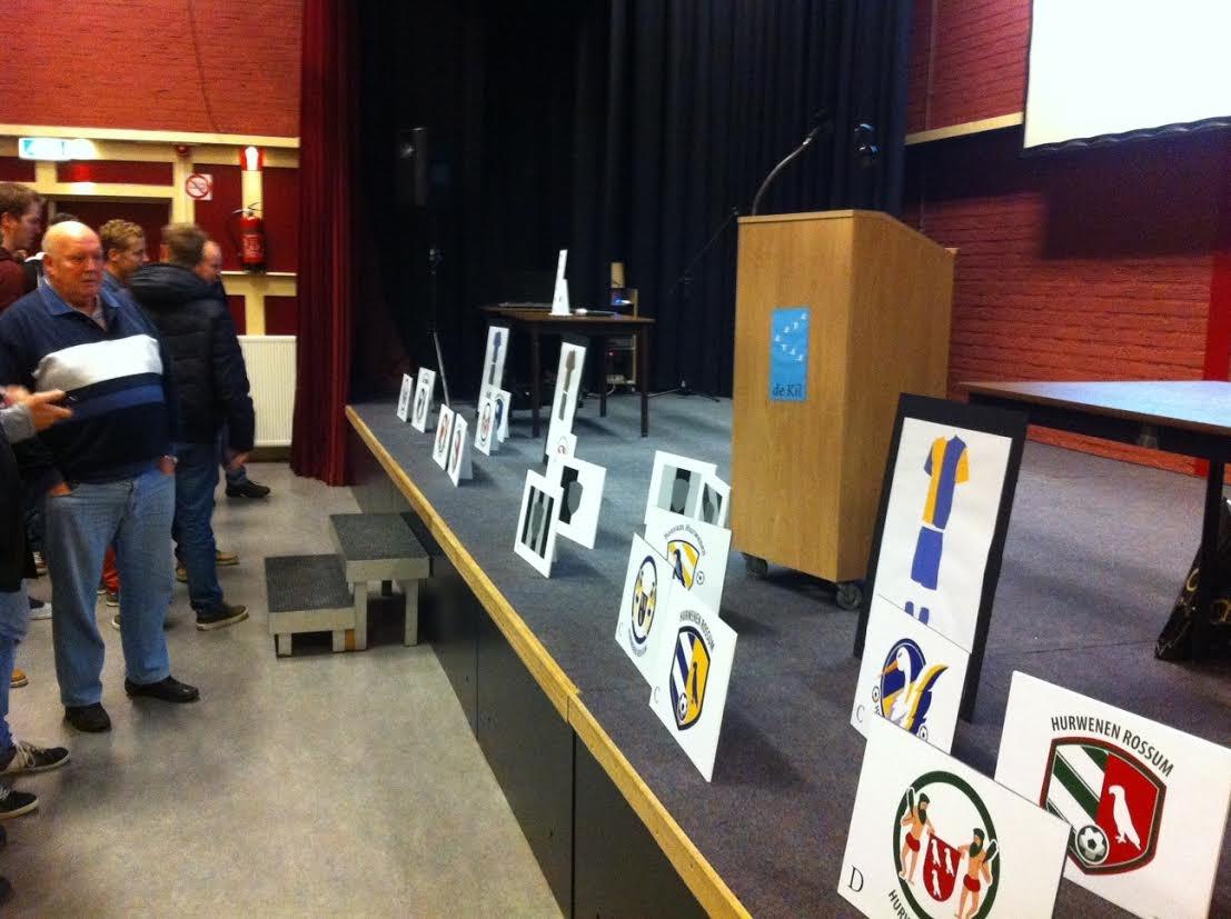 De leden van VV Hurwenen en VV Rossum kozen als nieuwe naam HRC'14.