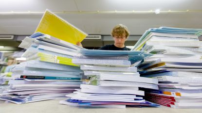 Dure schoolboeken blijven heel jaar dicht