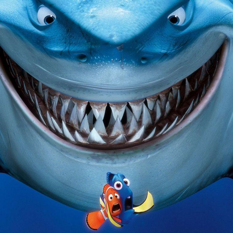 Een opvallende vaststelling: 'Finding Nemo' werd door één Vlaams gezin in 2017 liefst 436 keer bekeken. Beeld Disney