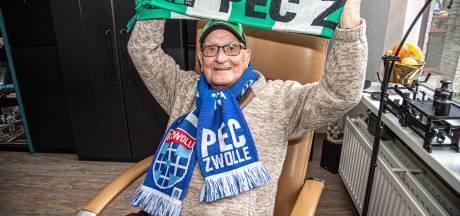 Video van de Dag | Niemand is zo'n grote fan van PEC Zwolle als Wil (91)
