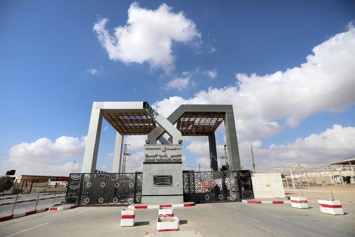 De grensovergang tussen Egypte en Gaza in Rafah.