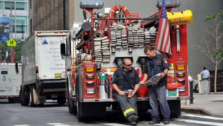 Brandweerlieden in New York (foto ter illustratie).