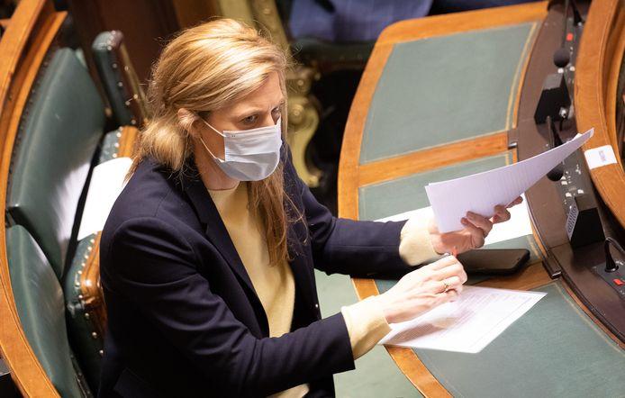 la ministre de l'Intérieur, Annelies Verlinden
