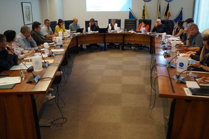 De gemeenteraad van Lichtervelde