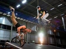 BMX'ers tonen kunsten in Evenementenhal
