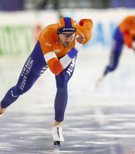 Nederlandse top 5 op 1500 meter, Krol de snelste