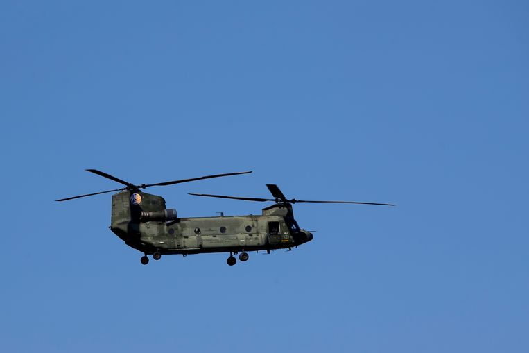 Een Chinook helikopter. Beeld BELGA