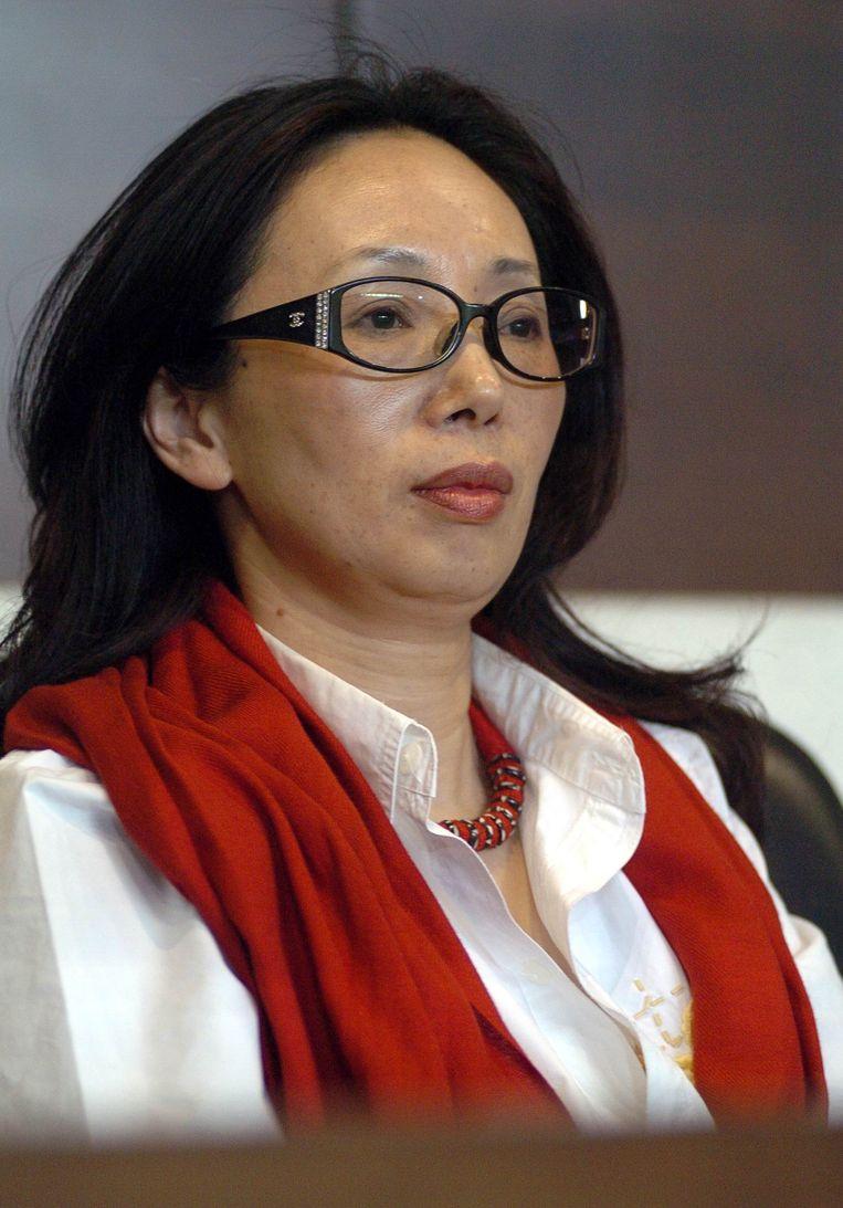 De Chinese zakenvrouw Xiu Li Hawken kocht in de zomer van 2016 een belang in KSV Roeselare. Evert Stroobant, communicatieverantwoordelijke: 'We hebben eigenlijk alleen maar positieve dingen te vertellen sinds haar intrede.' Beeld Shen ao - Imaginechina
