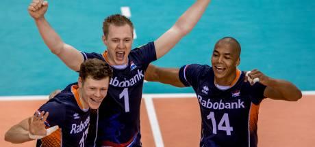 Oranje-volleyballers verliezen nipt van Argentinië