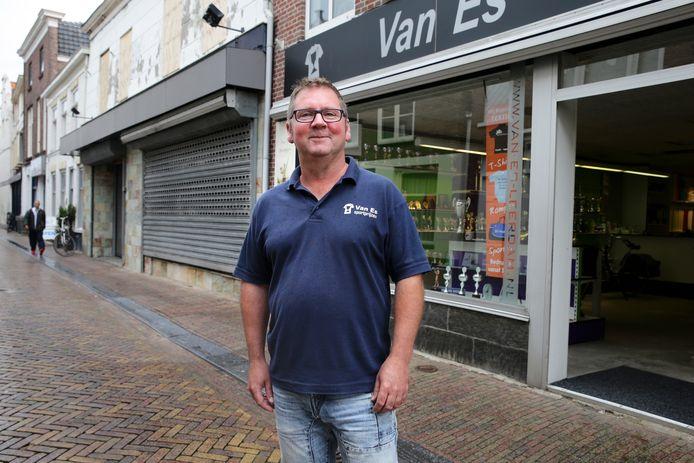 Dion van Es gaat er weer tegenaan. ,,Ik hoop dat ik de kracht kan vinden om door te gaan.''