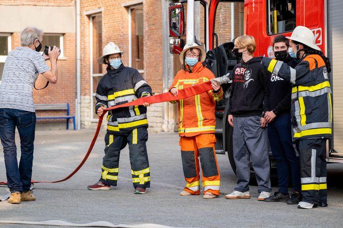 BORNEM OLVP neemt afscheid van preventieadviseur Freddy Hertog met een evacuatieoefening 'als verrassing'
