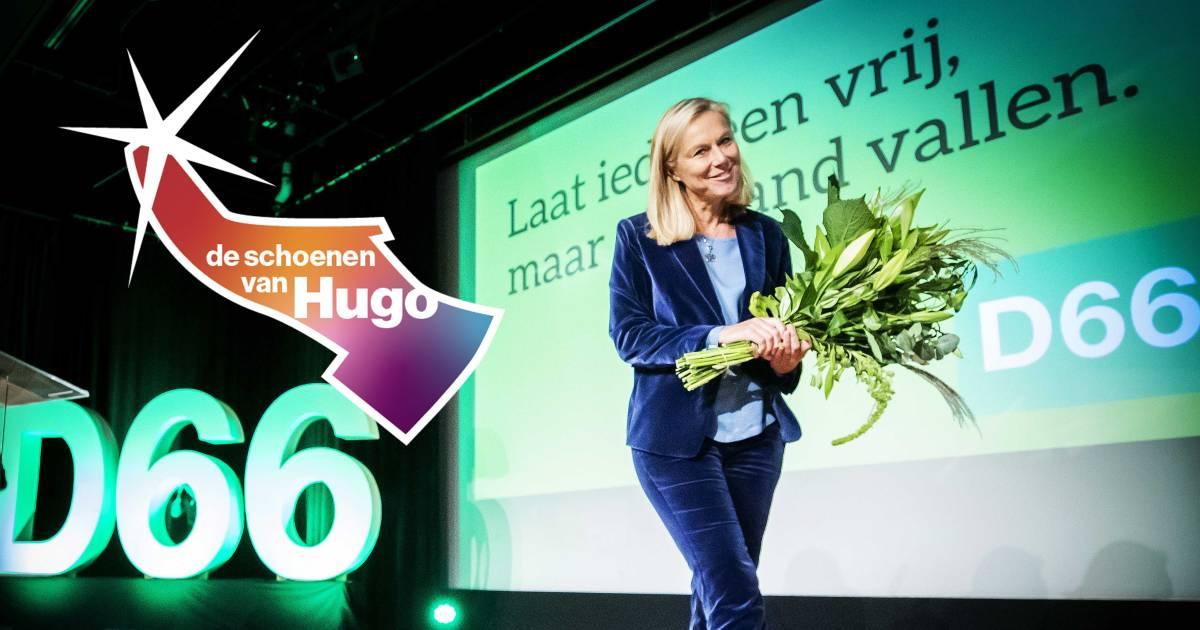 Waarom lijsttrekker Sigrid Kaag (D66) haar pumps verruilde voor gympen - AD.nl