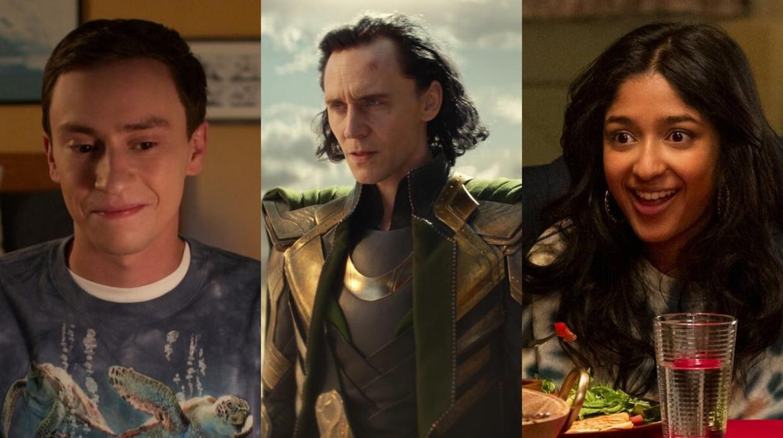 'Atypical', 'Loki' en 'Never Have I Ever' Beeld Netflix/Marvel