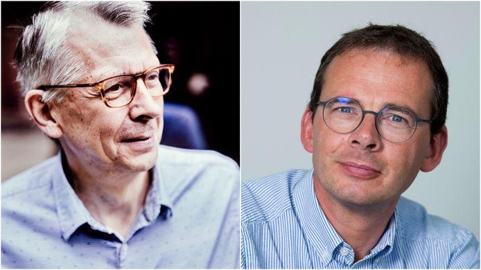 Wetenschapper Jan De Maeseneer werd in augustus plots vervangen in de Stuurgroep Contactonderzoek. Rechts minister van Welzijn Wouter Beke, over wie hij zich negatief uitgelaten had in de media.