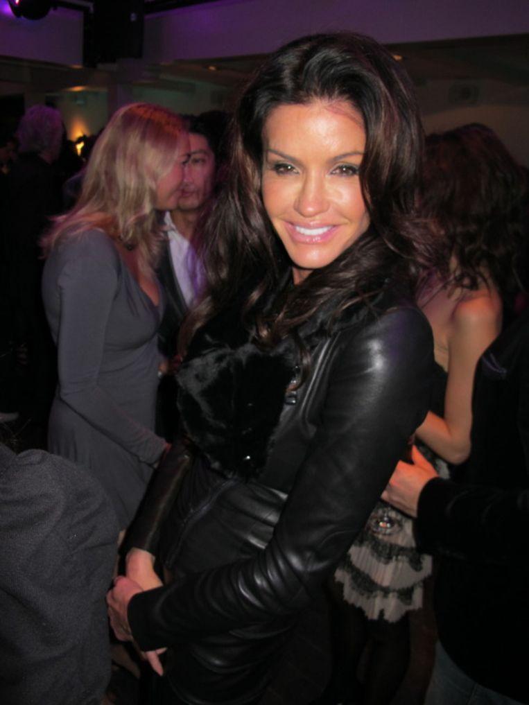 Ex-model en professioneel uitkaftalent Janice Dickinson is zelf al prinses. Beeld