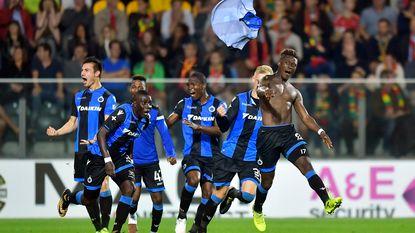 Club velt Oostende in de slotseconden, Limbombe nekt de kustboys