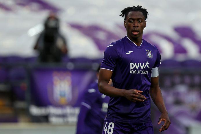 Sambi Lokonga, capitaine d'Anderlecht