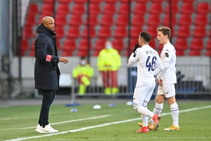 Quatre buts pour Anderlecht, un bijou pour Anouar Ait El Hadj.