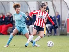 PSV Vrouwen wacht af: 'De eerste stap is: gaan we de competitie nog uitspelen?'