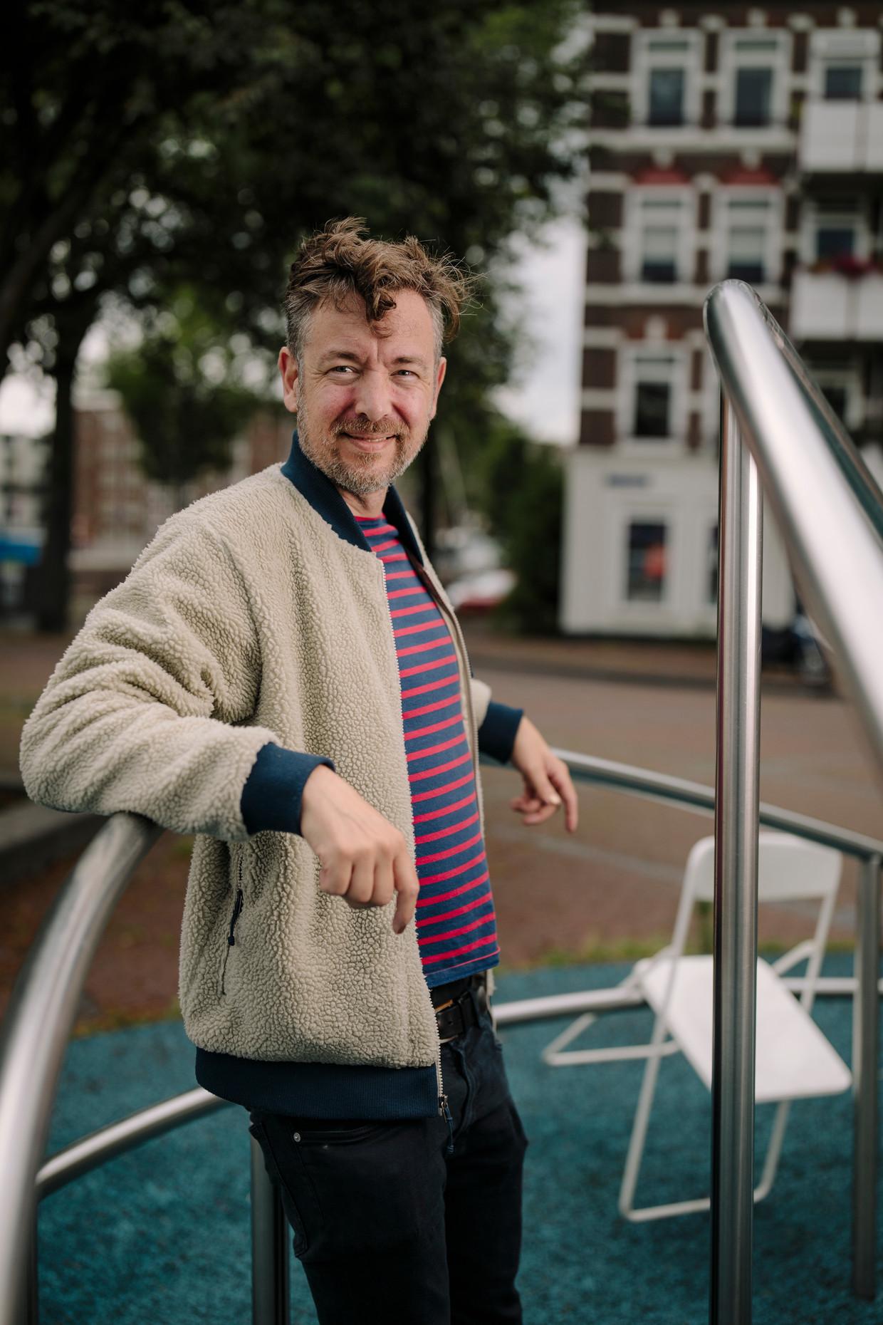 Jan Dirk van der Burg. Beeld Marc Driessen
